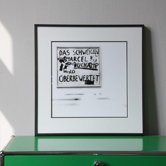 """Joseph Beuys III, aus der Serie """"Lothar Wolleh und Joseph Beuys 1971"""""""