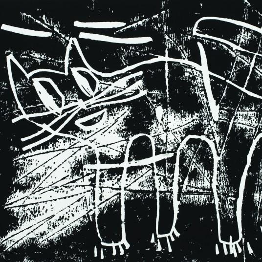 Katze /schwarz