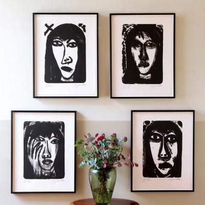 A.R. Penck, 4 Analytische Porträts