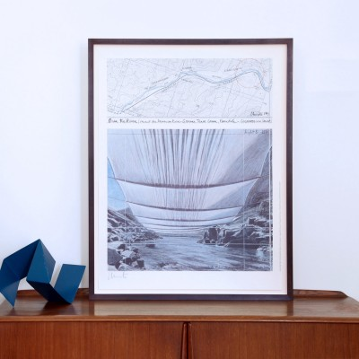 Christo & Jeanne-Claude, Over the River II (Underneath)