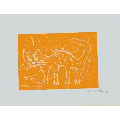 André Butzer, Katze / orange