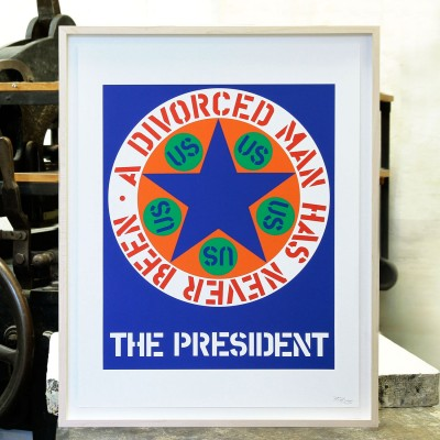Robert Indiana, The President