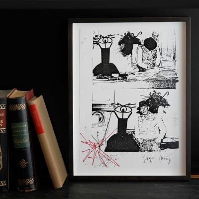 Joseph Beuys, Wiedergeborene Höhlenmenschen
