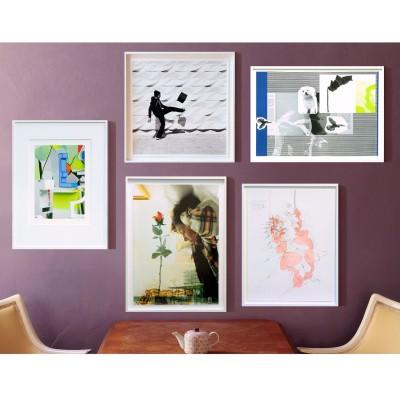 Malteser-Mappe mit 8 Künstler*innen, Malteser Edition, (Tony Cragg, Isa Genzken, Christian Jankowski, Olaf Nicolai, Robin Rhode,  Thomas Scheibitz, Rosemarie Trockel, Jorinde Voigt)