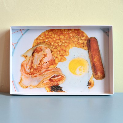 Martin Parr, English Breakfast Tray
