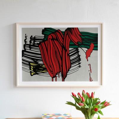 Roy Lichtenstein, Big Painting No. 6