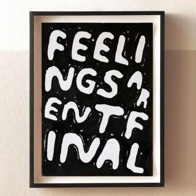 Stefan Marx, Feelings aren't final