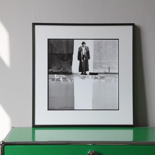 "Lothar Wolleh, Joseph Beuys I, aus der Serie ""Lothar Wolleh und Joseph Beuys 1971"""