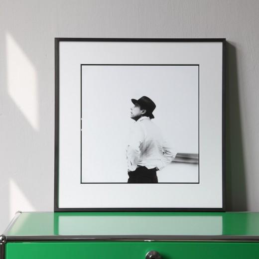 """Lothar Wolleh, Joseph Beuys II, aus der Serie """"Lothar Wolleh und Joseph Beuys 1971"""""""