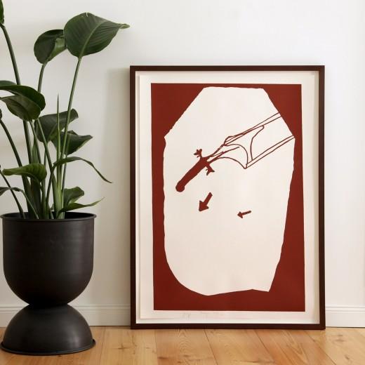 Joseph Beuys, Elch in der Strömung