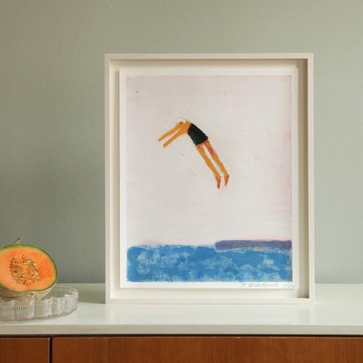 Katherine Bradford, Diver for Beuys