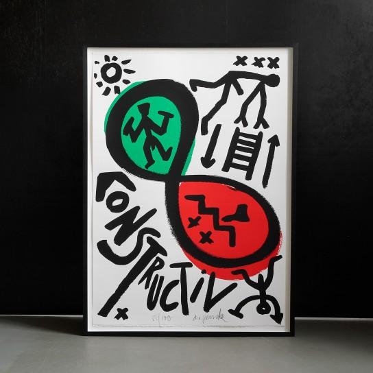 A.R. Penck, Ohne Titel