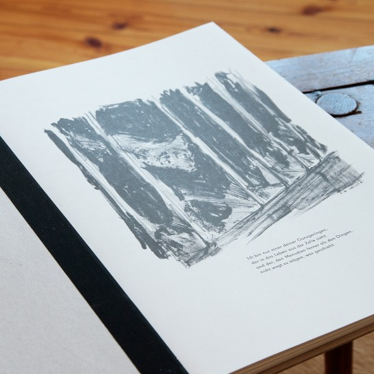 Fritz Can Poppenberg, Zehn Lithografien nach Rainer Maria Rilke