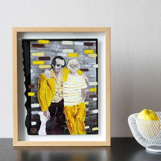René Holm , Partners in Party ‒ Jack Nicholson + David Hockney 1978