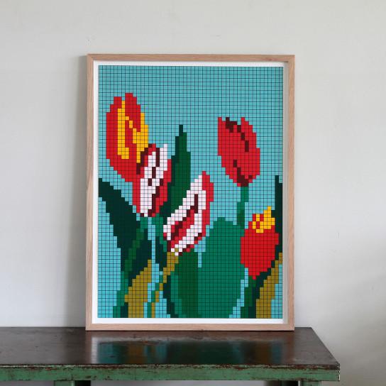 Reinhard Voigt, Fünf Tulpen